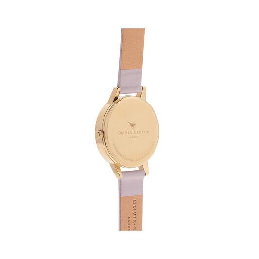 Big Dial Blush Dial & Gold Watch