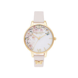 Pretty Blossom Blossom & Rose Gold Watch