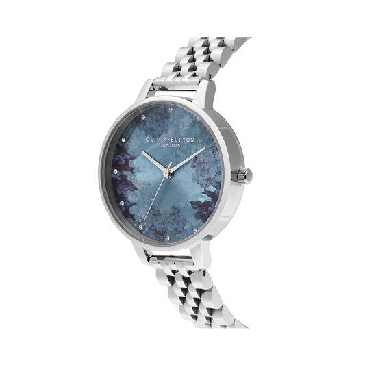 Under The Sea Coral & Crystal Marker, Silver Bracelet