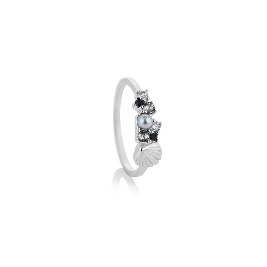 Under The Sea Shell Silver Ring S