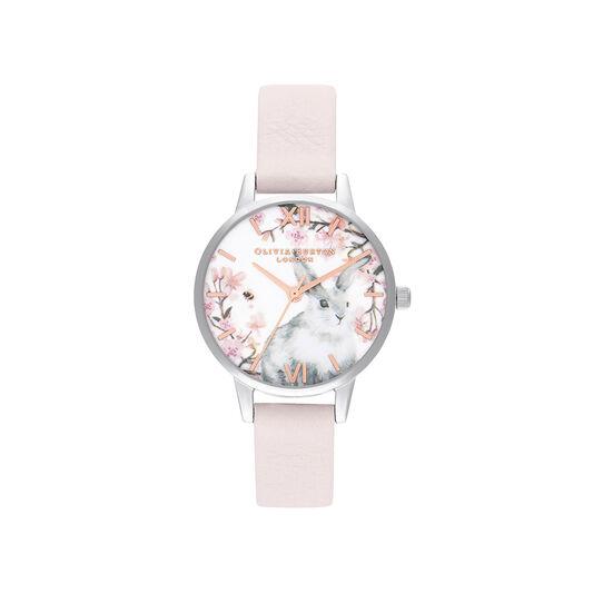 Bunny Blossom & Silver Watch