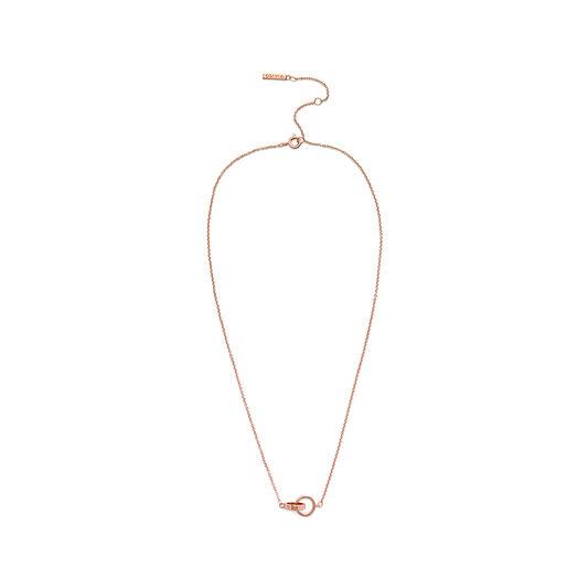 Interlink Rose Gold Necklace