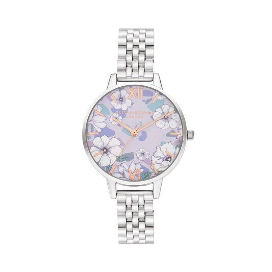 Groovy Blooms Rose Gold & Silver Bracelet