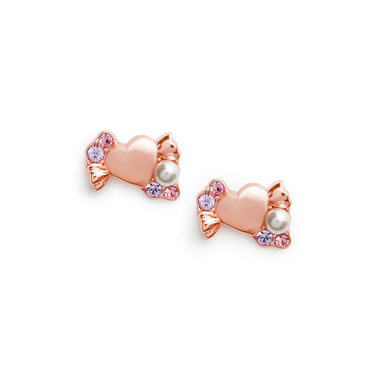 Sweetie Rose Gold Earrings