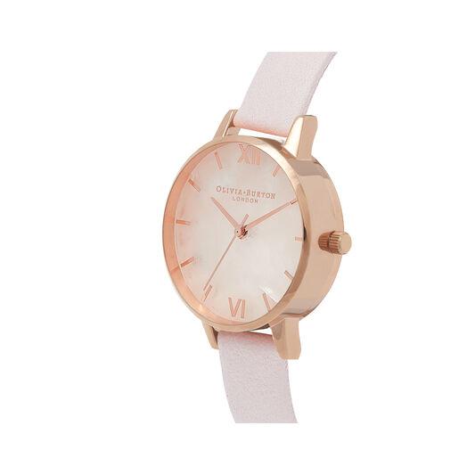 Semi Precious Blossom & Rose Gold Watch
