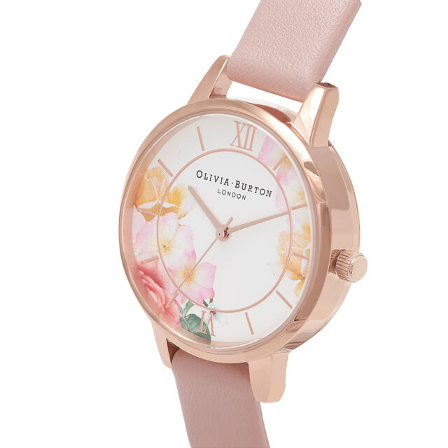 Tea Party Demi Dial Pink & Rose Gold Watch
