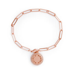 Bejewelled Classics Rose Gold Chain Bracelet