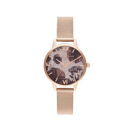 Celestial Rose Quartz & Rose Gold Watch