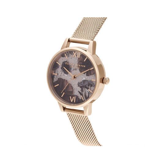Celestial Rose Quartz & Rose Gold Watch