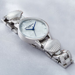 Mermaid Watch Silver & Blue