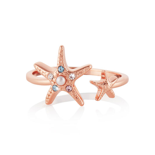 Starfish Rose Gold Ring