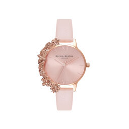 Case Cuff Nude Peach and Rose Gold Watch