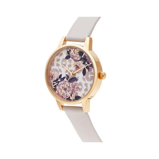 Wild Flower Vegan Blush & Gold Watch