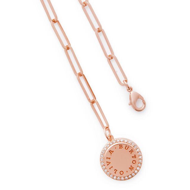 Bejewelled Classics Rose Gold Chain Bracelet