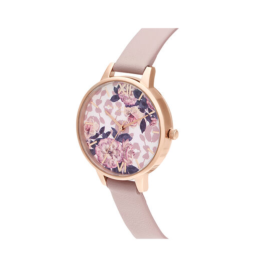 Wild Flower Vegan Rose & Rose Gold Watch