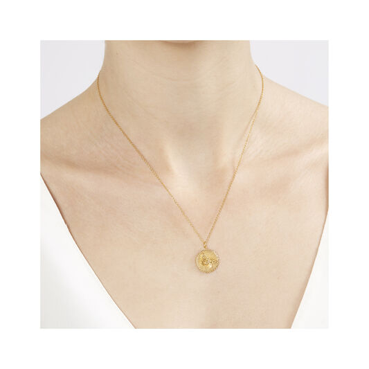 3D Butterfly Gold Necklace