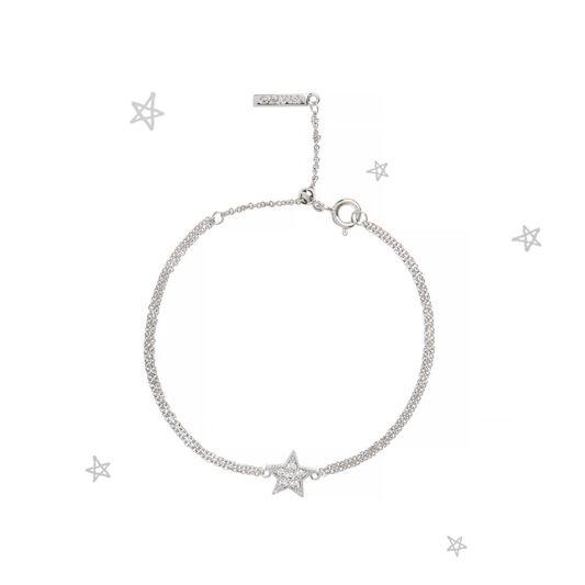 Bracelet chaîne Celestial à étoile