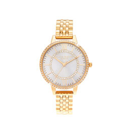 Wonderland Blush Demi Dial Gold Watch