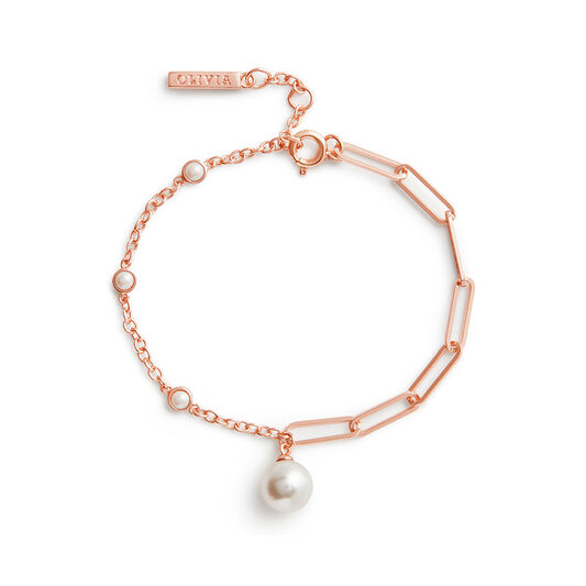 Bracelet Pearl or rose
