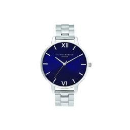 Shoreditch Classic, Navy & Silver Bracelet