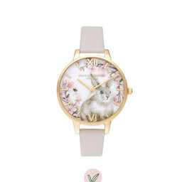 Bunny Vegan Blush & Gold Watch
