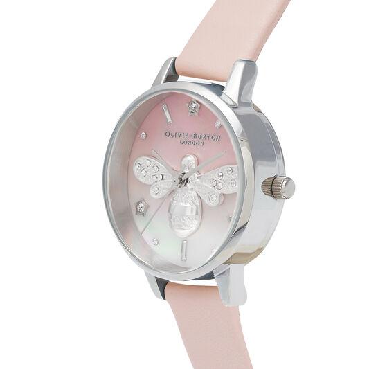 Sparkle Bee Blush & Silver Watch