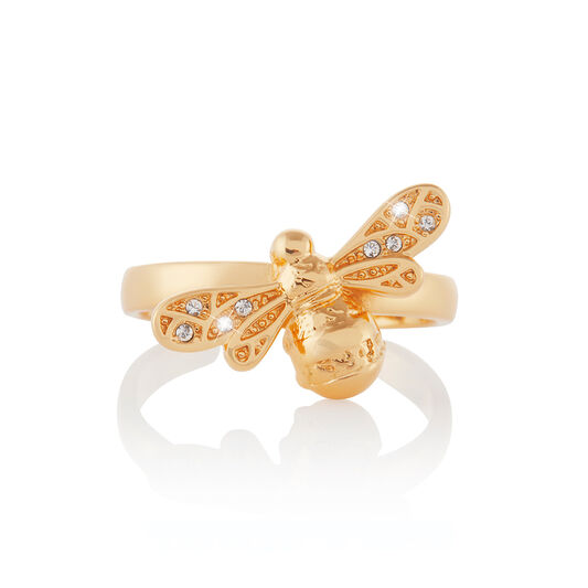 Sparkle Bee Gold Ring