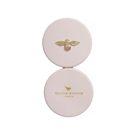 3D Bee Pink & Gold Mirror