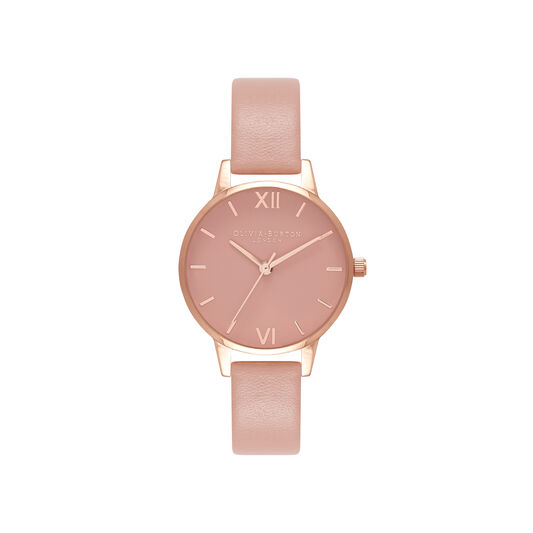 Midi Dial Pink And Rose Gold Watch