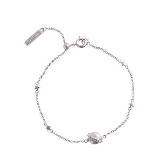 Bracelet chaîne Planet argent