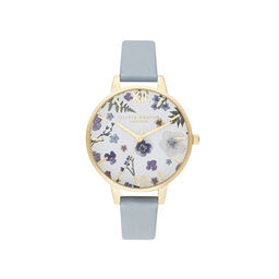 Artisan Vegan Blue & Gold Watch