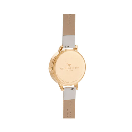 Celestial 3D Bee Pearl Pink & Gold Watch