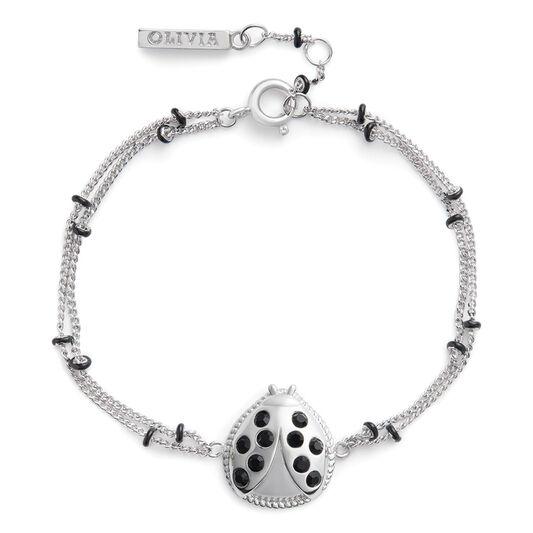Ladybird Bracelet Silver