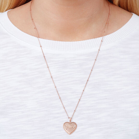 Made for Mum Necklace Rose Gold