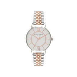 Wonderland Bracelet Silver & Rose Gold Watch