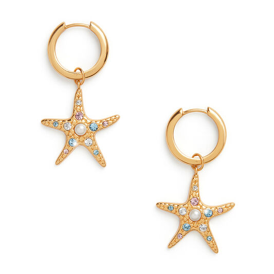 Starfish Gold Huggies