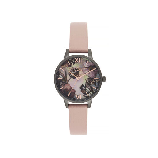 Twilight Midi Dial Watch with Grey Mother-Of-Pearl