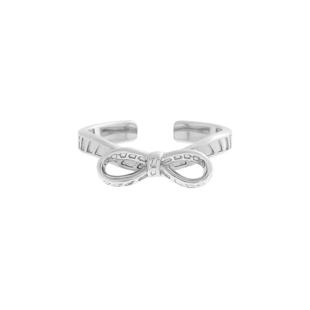 Bow Silver Ring