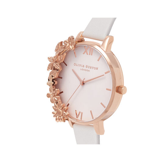 Case Cuff Blush & Rose Gold Watch
