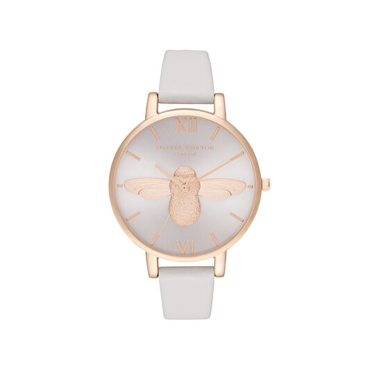 3D Bee Big Dial Blush Sunray Blush & Rose Gold