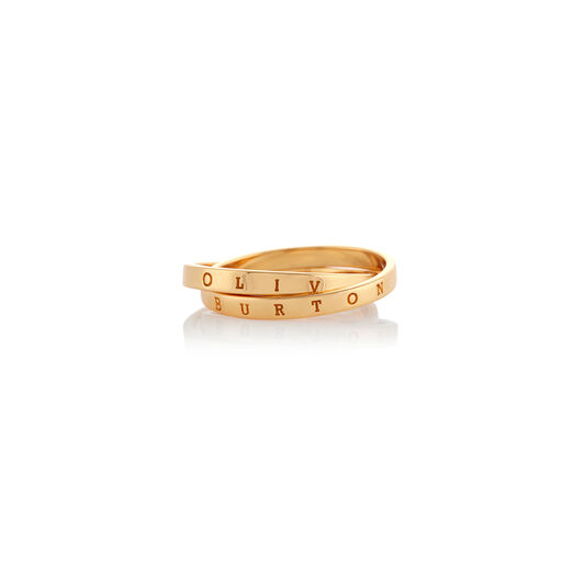 Classics Interlink Gold Ring S