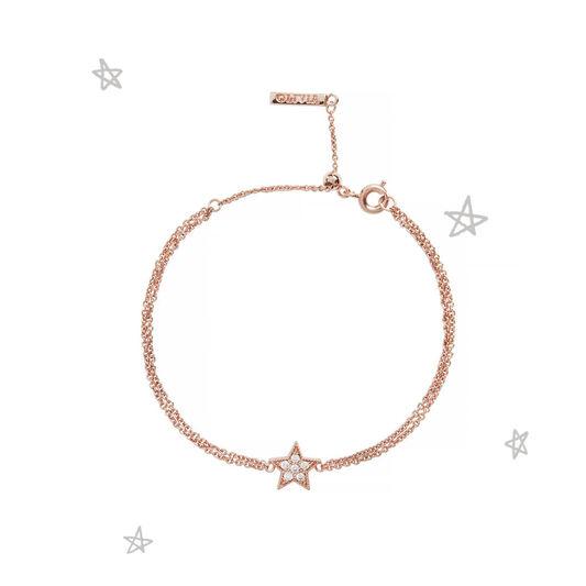 Celestial Star Rose Gold Bracelet