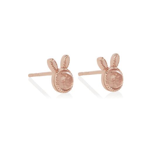 Bunny Gift Set Rose Gold & Rose Quartz