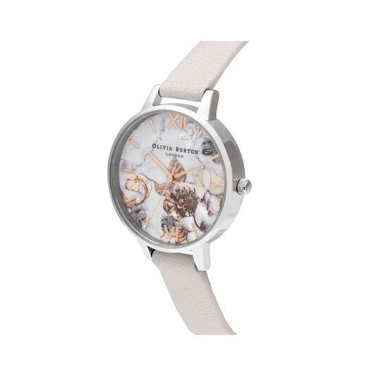Demi Pink & Silver Watch