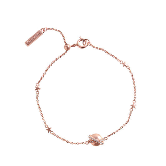 Bracelet chaîne Planet or rose