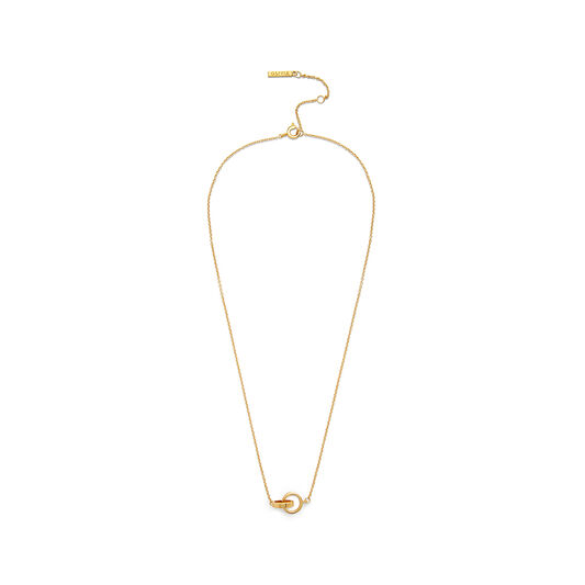 Interlink Gold Necklace