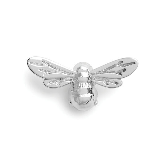 Lucky Bee Pin Silver
