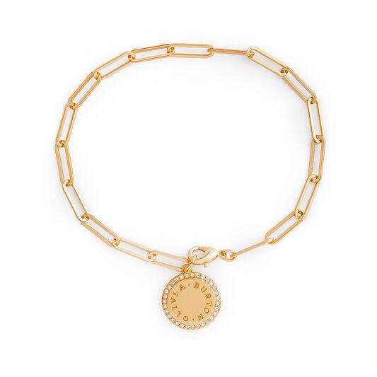 Bracelet chaîne Bejewelled Classics or