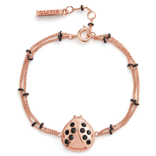 Ladybird Bracelet Rose Gold