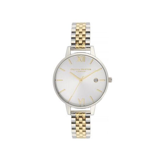 Sunray Silver & Gold Bracelet Watch